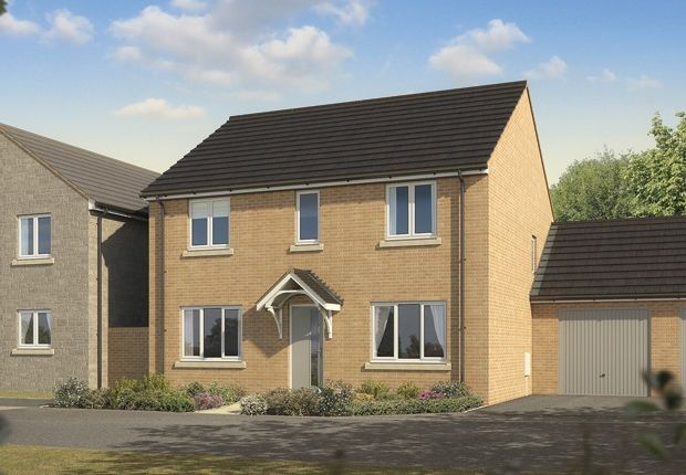 "Thumbnail Detached house for sale in ""The Chedworth "" at Bishops Hull Road, Bishops Hull, Taunton"