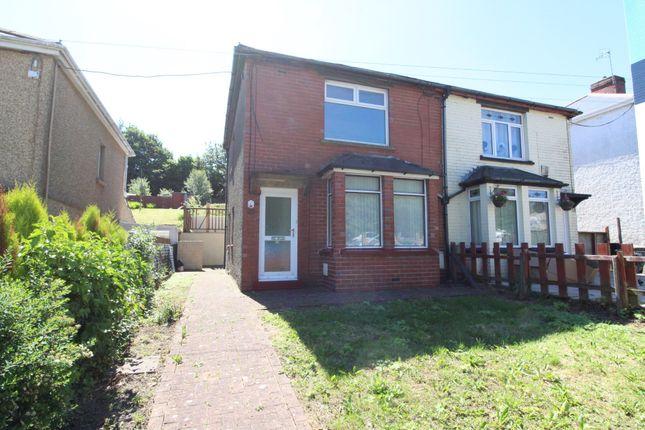 Thumbnail Semi-detached house for sale in Pandy Road, Croespenmaen, Crumlin, Newport