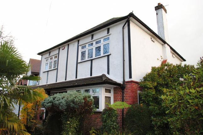 Thumbnail Detached house for sale in Castellan Avenue, Gidea Park, Romford