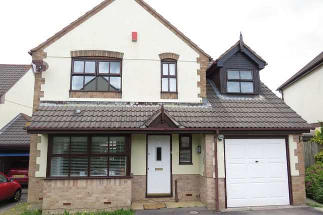 Thumbnail Detached house for sale in Highfield Park, Latchbrook, Saltash