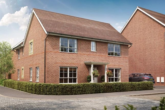 "Thumbnail Detached house for sale in ""Willoughby"" at Somerset Avenue, Leicester"