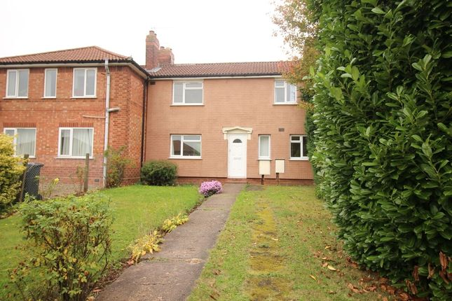 Thumbnail Terraced house to rent in King George Close, Bromsgrove