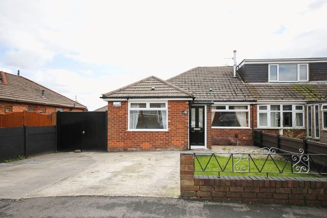 Thumbnail Semi-detached bungalow to rent in Ashbourne Avenue, Whelley, Wigan