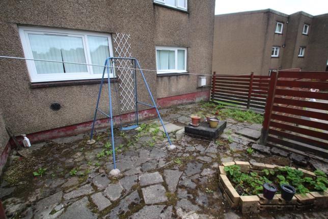 Garden of Ashiestiel Place, Greenfaulds, Cumbernauld, North Lanarkshire G67