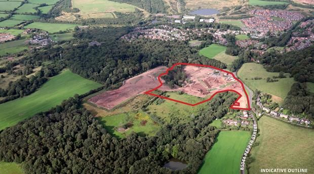 Thumbnail Land for sale in Land At Pepper Street, Keele, Newcastle Under Lyme