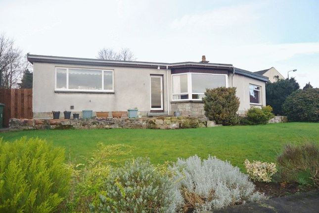 Thumbnail Detached bungalow for sale in The Glebe, Clackmannan