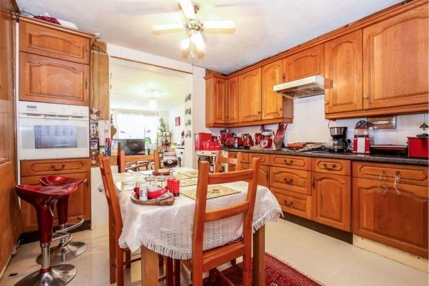 Kitchen of Albert Drive, Woking GU21