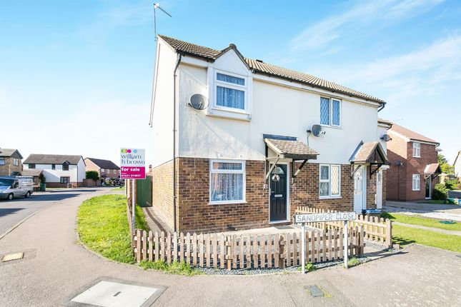 Thumbnail End terrace house for sale in Sandpiper Close, Heybridge, Maldon