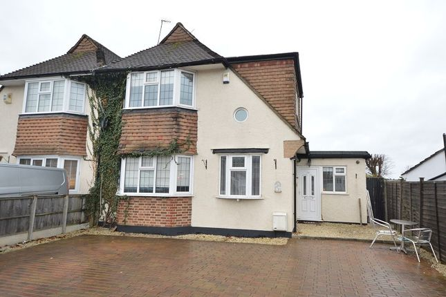 4 bed semi-detached house for sale in Hook Road, Chessington, Surrey KT9
