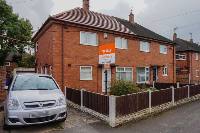 Thumbnail Semi-detached house for sale in Beaconsfield Drive, Blurton, Stoke-On-Trent