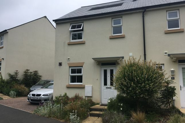 3 bed semi-detached house to rent in Lindemann Close, Sidmouth