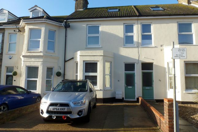 Thumbnail Terraced house to rent in Alexandra Road, Lowestoft