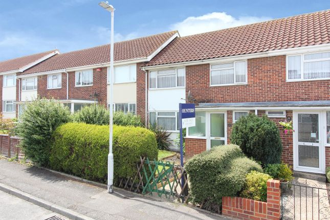 Thumbnail Terraced house for sale in Appledore Crescent, Cheriton, Folkestone