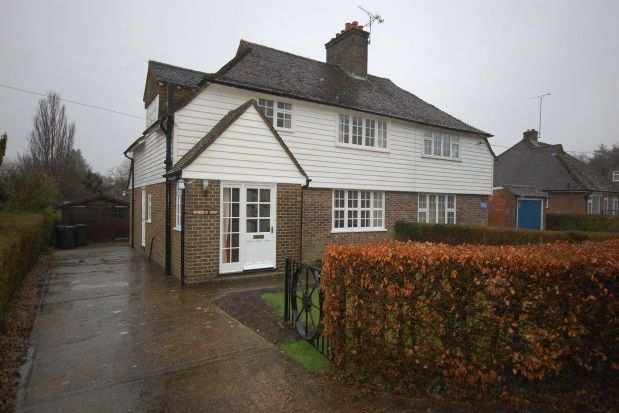 Thumbnail Semi-detached house to rent in Isle Of Thorns, Chelwood Gate, Haywards Heath