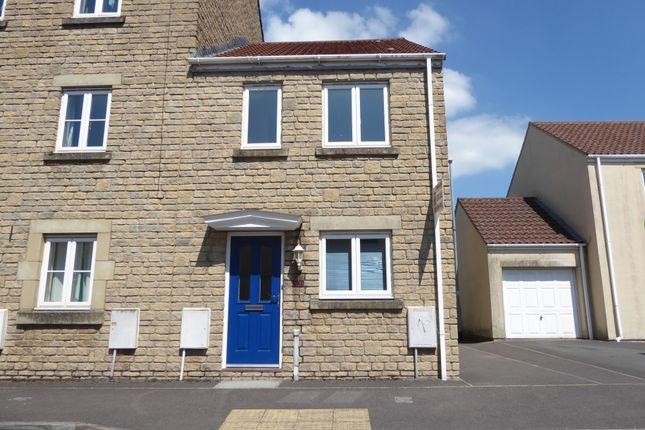Thumbnail End terrace house to rent in Wallington Way, Frome