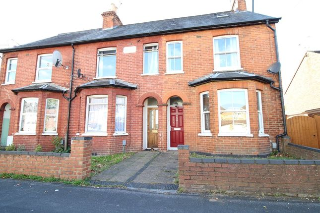 Thumbnail Terraced house to rent in Peabody Road, Farnborough