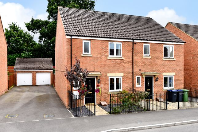 Thumbnail Semi-detached house to rent in Swaledale Road, Warminster