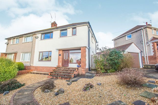 Thumbnail Semi-detached house for sale in Dovedale Close, Penylan, Cardiff
