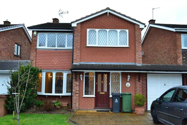Thumbnail Detached house to rent in Ravensdale Gardens, Walsall