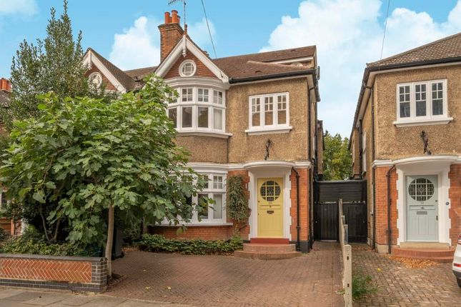 Thumbnail Semi-detached house for sale in Milner Road, Kingston Upon Thames