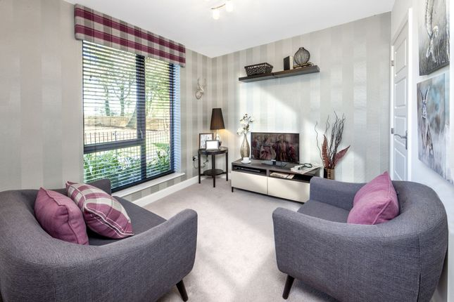 "Thumbnail Semi-detached house for sale in ""Fleming I"" at The Green, Upper Lodge Way, Coulsdon"