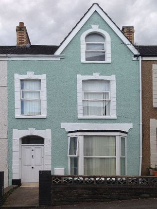 Thumbnail Terraced house to rent in Finsbury Terrace, Brynmill, Swansea