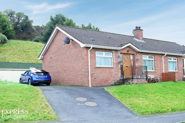 Thumbnail Semi-detached bungalow for sale in Glenlough, Ballynahinch, County Down