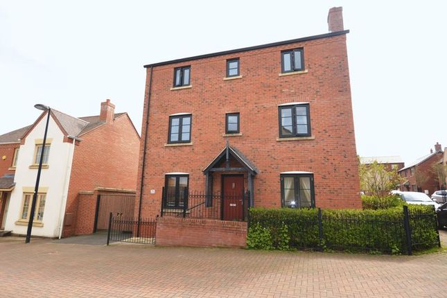 Thumbnail Detached house for sale in Well Croft, Lawley Village, Telford