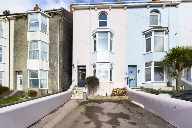 4 bed end terrace house for sale in Ventnor Road, Portland DT5