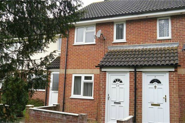 Thumbnail Terraced house to rent in Howard View, Basingstoke