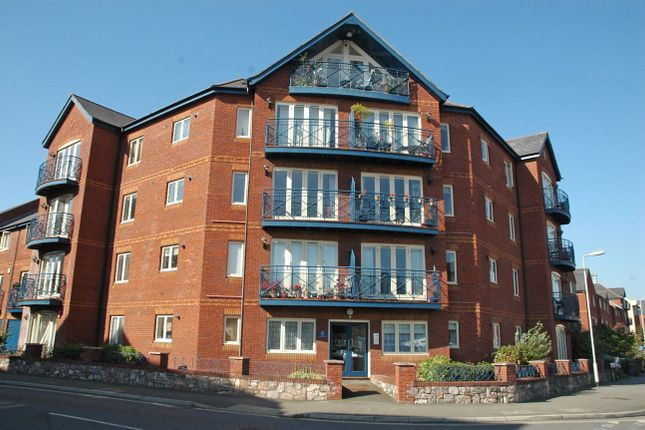 Thumbnail Flat to rent in Haven Road, Exeter, Devon