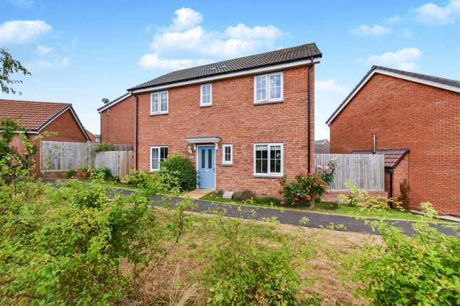 Thumbnail Detached house for sale in Quartly Drive, Bishops Hull, Taunton