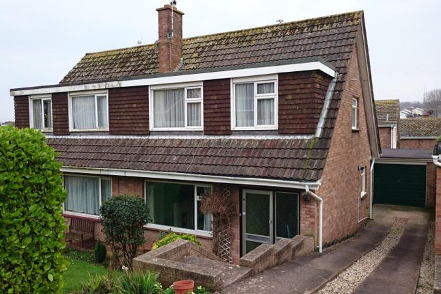 Thumbnail Semi-detached house to rent in Underidge Close, Paignton