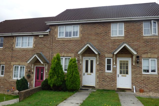 Thumbnail Terraced house to rent in Dol Werdd, Waunceirch, Neath.