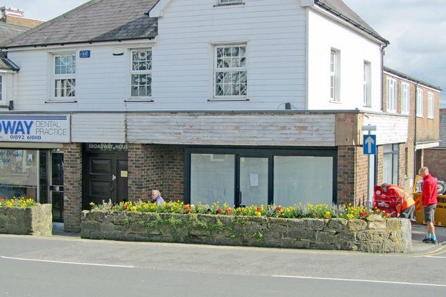 Thumbnail Retail premises to let in Broadway House, The Broadway, Crowborough