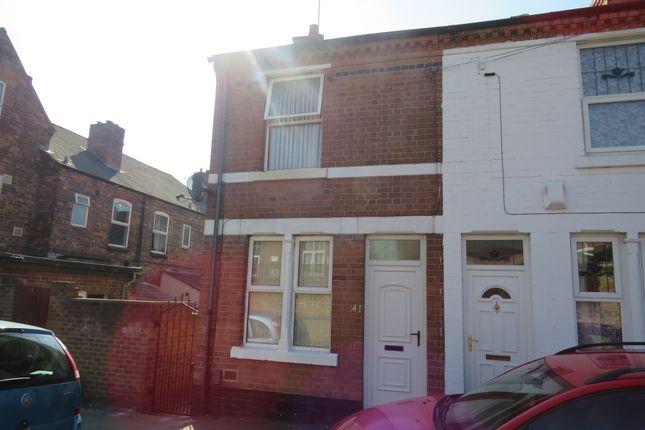 Thumbnail End terrace house for sale in Lyndhurst Road, Sneinton, Nottingham