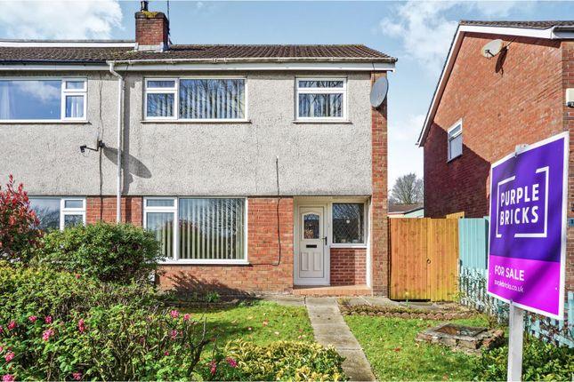 Semi-detached house for sale in Glenwood, Llanedeyrn