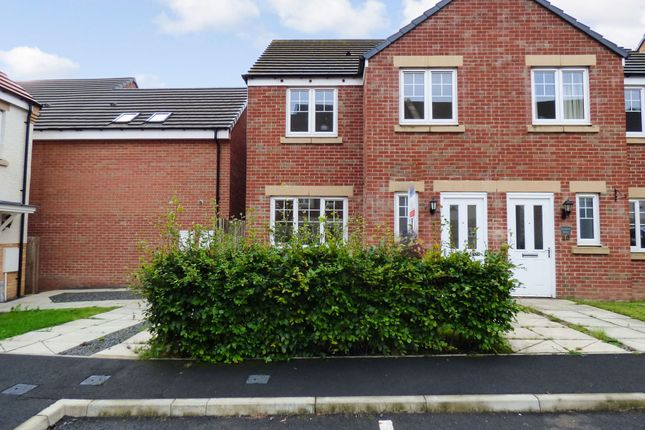 Thumbnail Semi-detached house to rent in Loansdean Wood, Morpeth