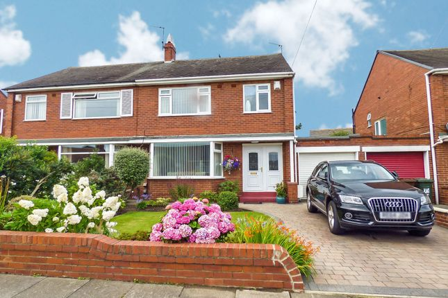 Thumbnail Semi-detached house for sale in West Dene Drive, North Shields