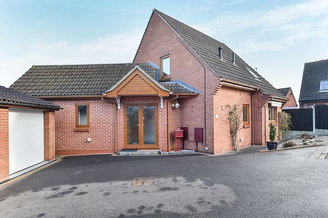 Thumbnail Bungalow for sale in Lawn Close, Heanor