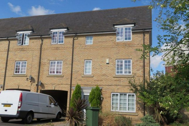Thumbnail Terraced house to rent in Tinus Avenue, Hampton Vale, Peterborough