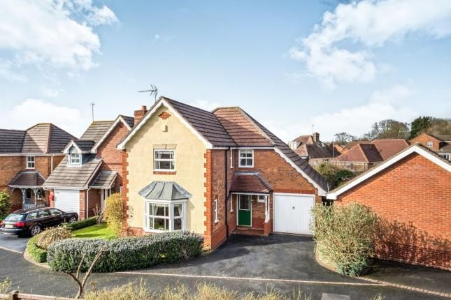 Thumbnail Detached house for sale in Conwy Drive, Evesham, Worcestershire