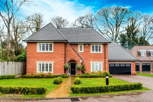 Thumbnail Detached house to rent in Temple Gardens, Dorridge, Solihull