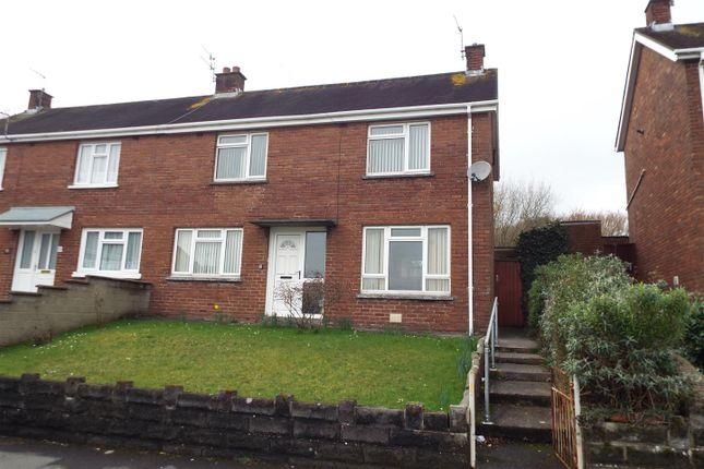 Thumbnail Semi-detached house for sale in Bryngwyn Bach, Dafen, Llanelli