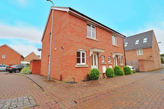 Thumbnail 2 bed semi-detached house to rent in Maes Y Llech, Radyr