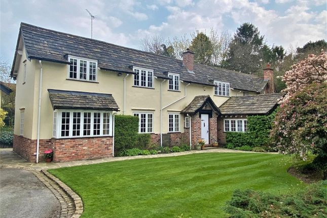Thumbnail Detached house for sale in Fulshaw Park, Wilmslow