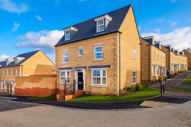"Thumbnail Detached house for sale in ""Hertford"" at Popes Piece, Burford Road, Witney"