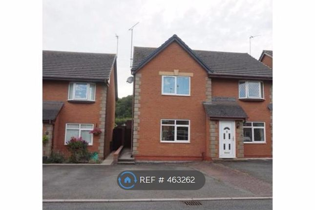Thumbnail Semi-detached house to rent in Campbell Close, Llandudno