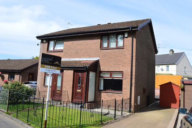 Thumbnail Semi-detached house for sale in Oxhill Place, Dumbarton