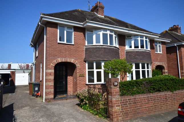 Thumbnail Semi-detached house to rent in Edwin Road, Exeter